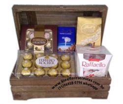 Cestas de Chocolate Delicia e Sabores