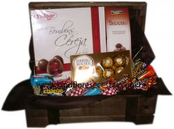 CESTAS DE CHOCOLATE BAU DOCE AMANHECER SORTIDOS